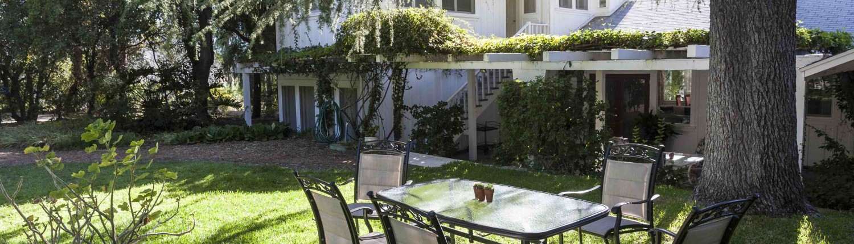 Backyard Area of Pepper Tree Retreat